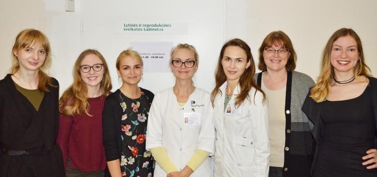 Šeškinės poliklinikoje veikia lytinės reprodukcinės sveikatos kabinetas jaunimui