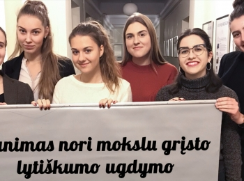 Jaunimas nori mokslu grįsto lytiškumo ugdymo